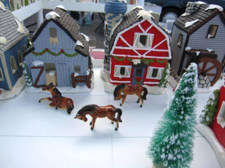 Christmas villages come to holiday market