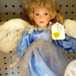 Just in: angels, costume jewelry at Hancock Antique Mall