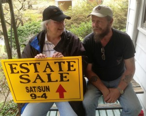 Greg and Jean Porter glad estate sale emptied Glenn Dale MD house
