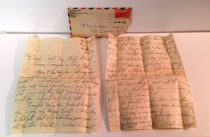 This Just In: World War II love letter from Army private in Heilbronn Germany